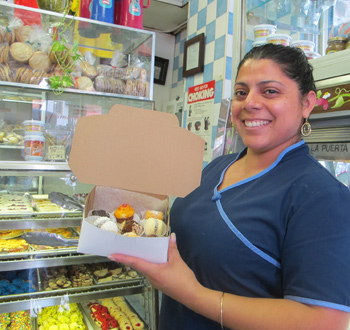 Argentinian mini-pastries in Jackson Heights