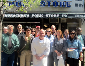 Tour Group in Ridgewood, Queens